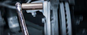 breaker bar, caliper mounting bolt