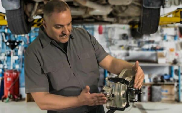 Changing Brake Hardware is Easy