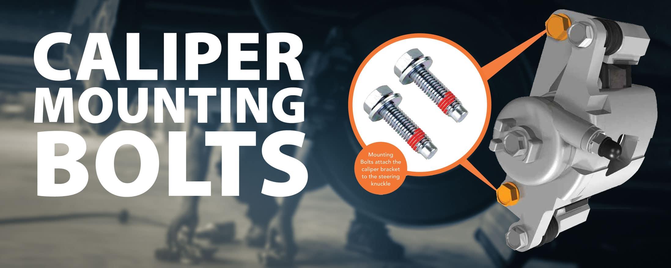 brake caliper mounting bolts, brake caliper bolt