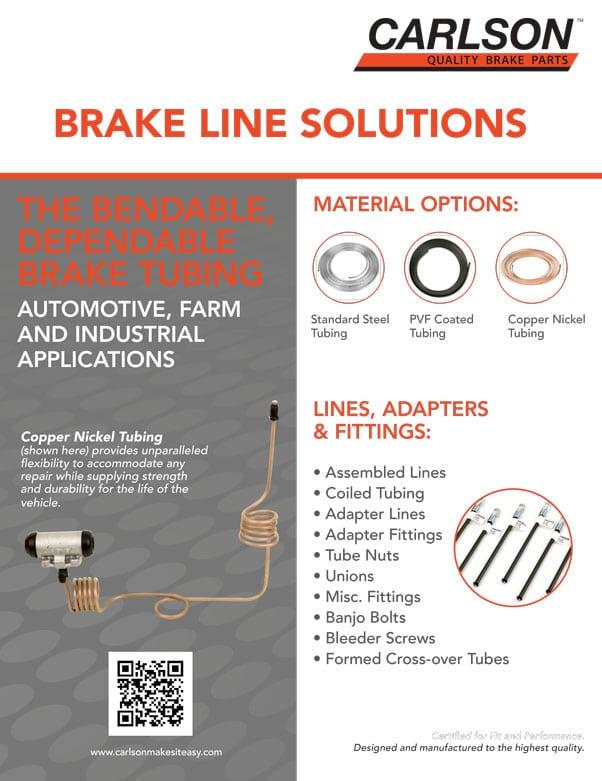 Flyer Solutions de conduite de frein