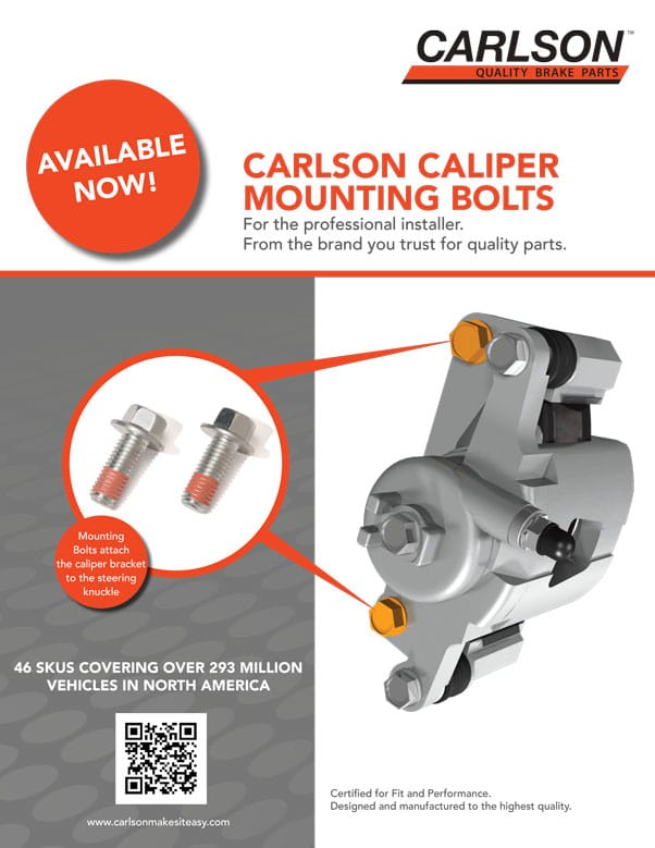Caliper Mounting Bolts Flyer