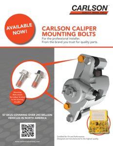 Carlson Caliper Mounting Bolts Flyer 2020 Thumbnail