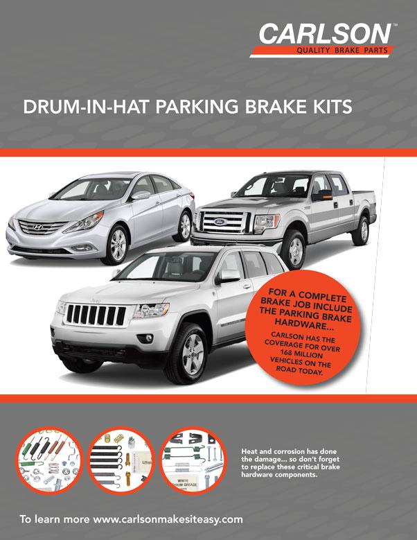 Drum-In-Hat Parking Brake Kits Flyer