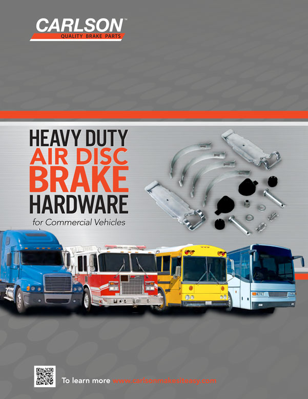 Heavy Duty Air Disc Brake Hardware Flyer