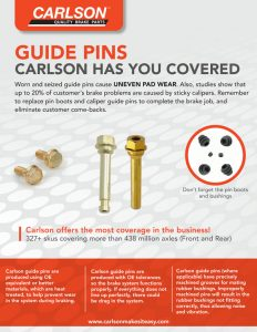 Carlson Guide Pins Flyer