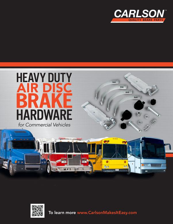 Brochure sur le matériel de freins à disque pneumatiques robustes