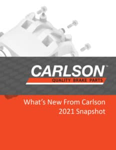 What's new from Carlson 2021 cover image